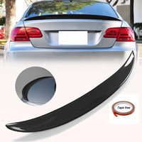 High quality Carbon Fiber High Kick Trunk Spoiler Wings For BMW E92 for Coupe 328i 335i M3 Wing Lip CF