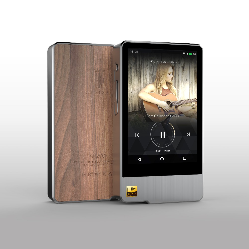 Hidizs AP200 Android Bluetooth 5.1 HiFi Music Player 32G/64G (build-in memory) 3.54'IPS Double ES9118C DAC DSD PCM FLAC MP3 цена