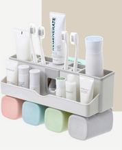 Держатель зубной щетки набор присоска без сверла зубная паста