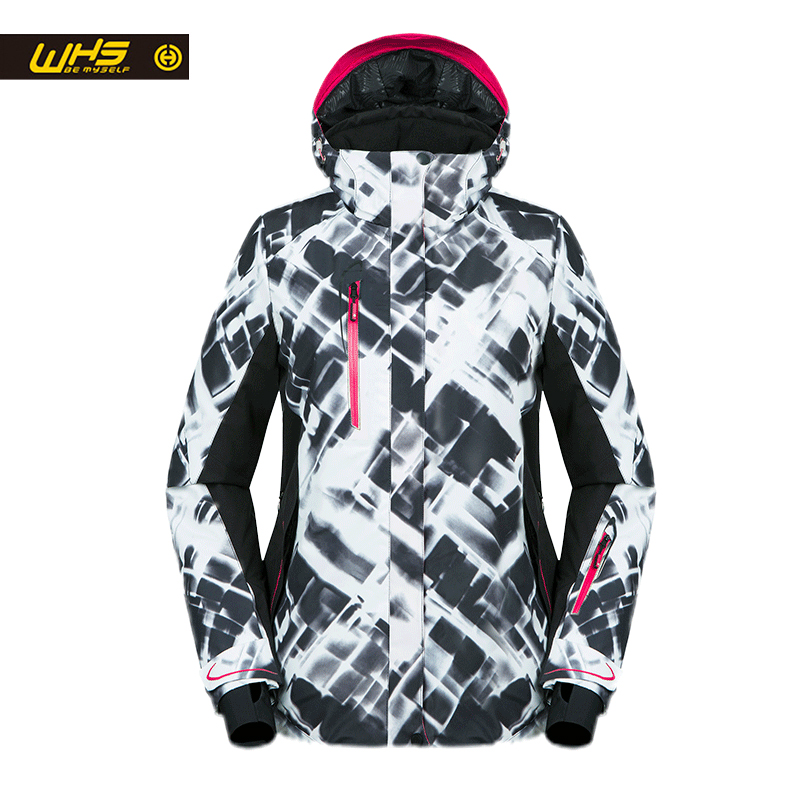 WHS New Women ski Jackets winter Outdoor Warm Snow Jacket coat female waterproof snow jacket ladies breathable sport clothes 2013 new mens jackets hip hop outdoors sport cotton the winter coat snow jacket down