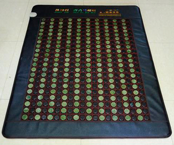 High Quality! New Arrival Mix Color Tourmaline Mattress Infrared Heating Mattress Jade Mat AC220V Size190x120cm,Free shipping
