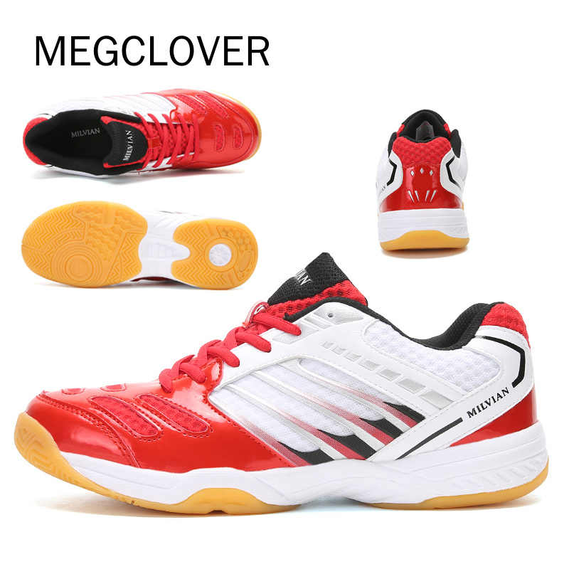 2019 New Professional Badminton Shoes Men Women Badminton Sneakers Couples Badminton Sneaker Indoor Sports Tennis Free Shipping