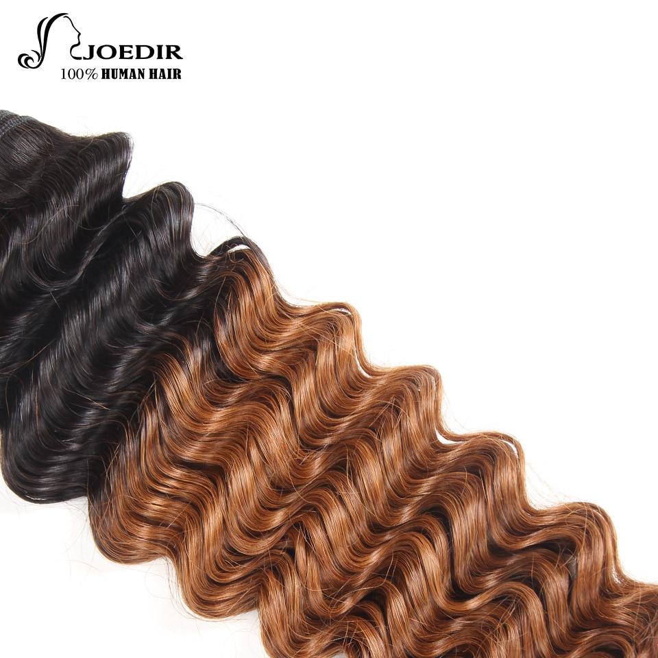 Joedir Deep Wave Bundles 1 Piece Only Brazilian Human Hair Weaving - Skönhet och hälsa - Foto 5