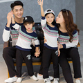 Casual Mother Daughter Father Son T-shirt Cartoon Print Sweatshirt Family Matching Clothing Family Set Women Men Kid Tee GB6