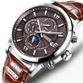 Швейцарские часы Nesun  мужские роскошные брендовые автоматические механические часы  часы Sapphire  мужские водонепроницаемые часы 30 м  N9027-1