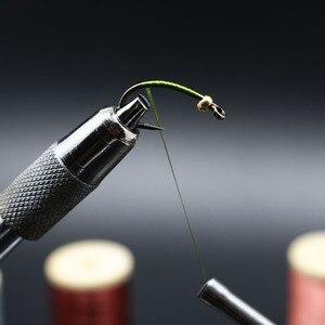 Image 5 - Royal Sissi 15 colori piccolo legno spooled fly legare filo 8/0 altamente cerato 210yds/bobina 75Denir filato ibrido legare filo