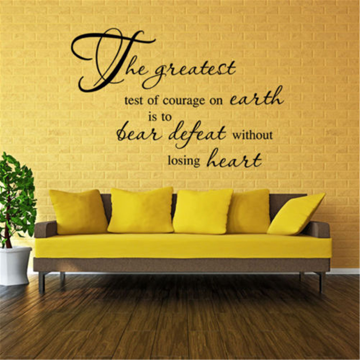 Bible Scripture Wall Decals Word Vinyl Removable Sticker Verse Quote ...