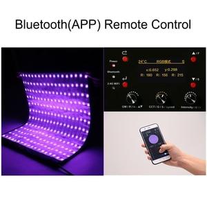 Image 4 - فالكون عيون 100 واط RGB LED الفيديو الضوئي دعم APP التحكم عن بعد المحمولة 8 المشهد وسائط مصباح الإضاءة المستمر RX 818