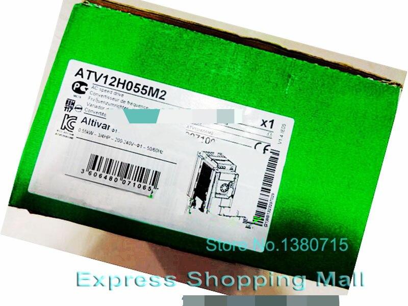 где купить New ATV12H055M2 VFD Inverter Input 1ph 220V 3.5A 0.55KW по лучшей цене