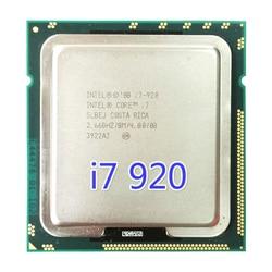 Intel Core I7 920 Processor 8 M Cache, 2.66 GHz, 4.80 GT/S Intel Qpi LGA1366 Desktop CPU I7-920 CPU