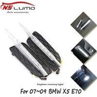 Hot Sale Car 12V LED Daytime Running Light DRL Daylight For BMW X5 E70 2007 2009