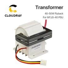 Cloudray 40 50 w alta tensão flyback transformador modelo a para co2 fonte de alimentação do laser psu MYJG 40 50