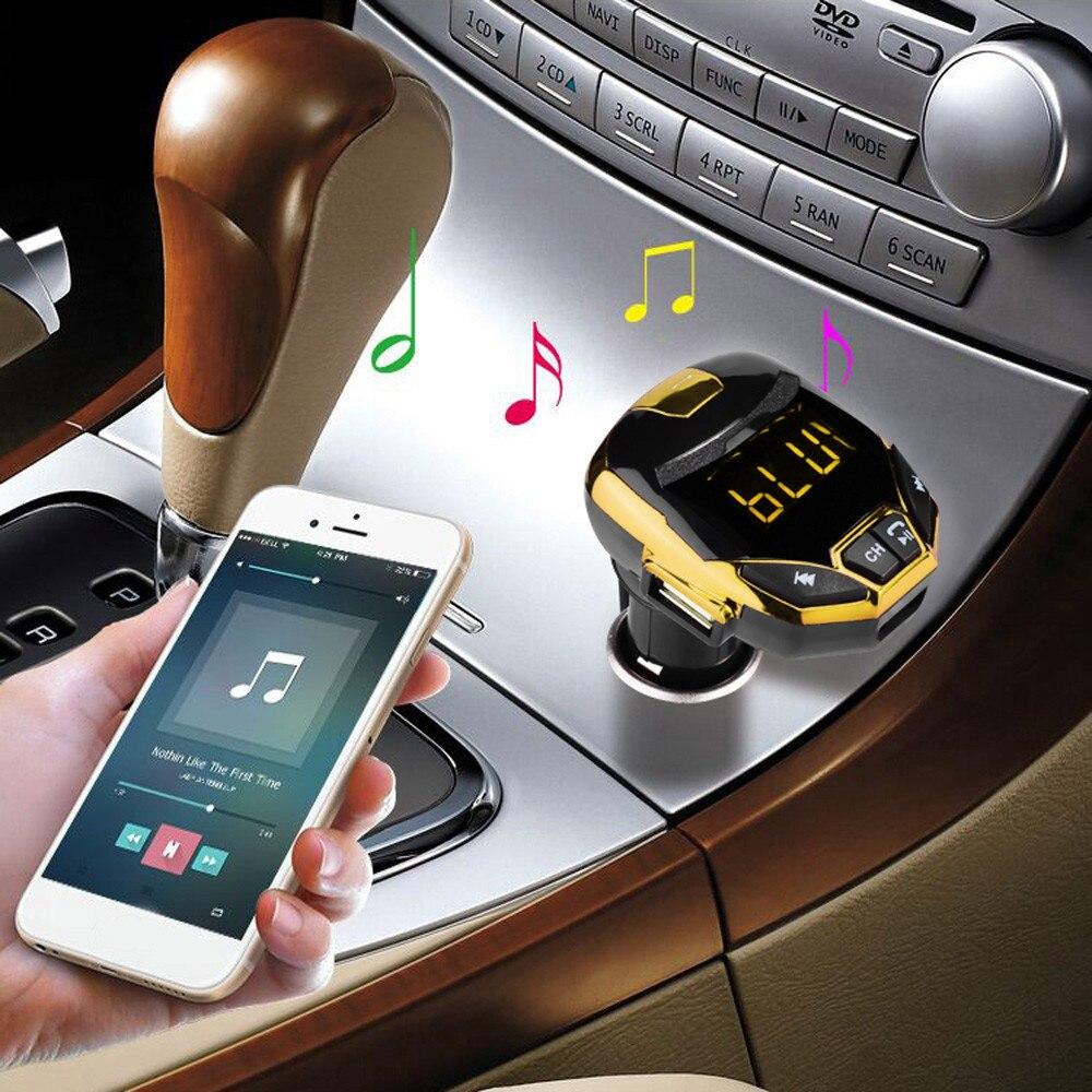 2019 multifonction sans fil Bluetooth chargeur FM transmetteur modulateur Voiture Kit MP3 lecteur de musique G7 à Mp3 Voiture adaptateur H0201