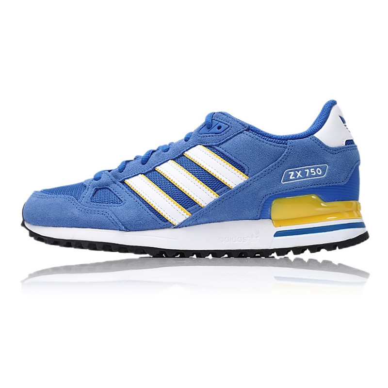 7c286ee008d50 New Arrival Official Adidas Originals ZX 750 Men s Breathable Skateboarding  Shoes Sports Sneakers