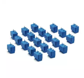 5.08-301-2P 301-2P 2 Pin Screw Terminal Block Connector 10pcs/lot