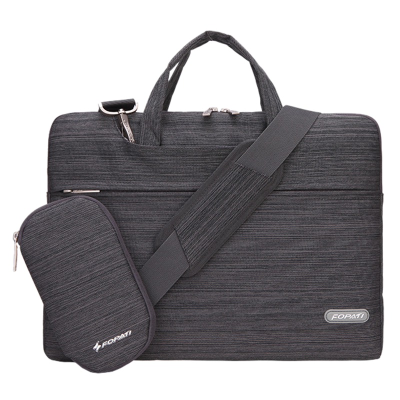 13 inch Laptop Bag Notebook Shoulder Messenger Bag Men Women Handbag Sleeve (Suit Dark Gray)