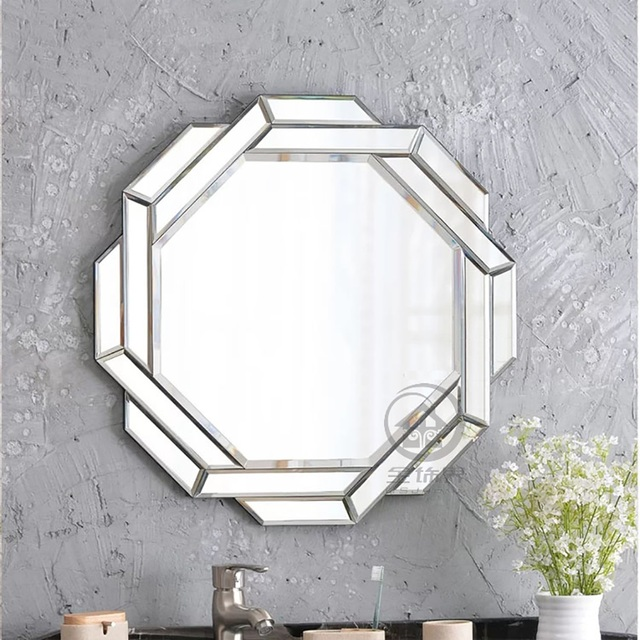 Moderno specchio a parete di vetro specchio da parete decorativo a ...