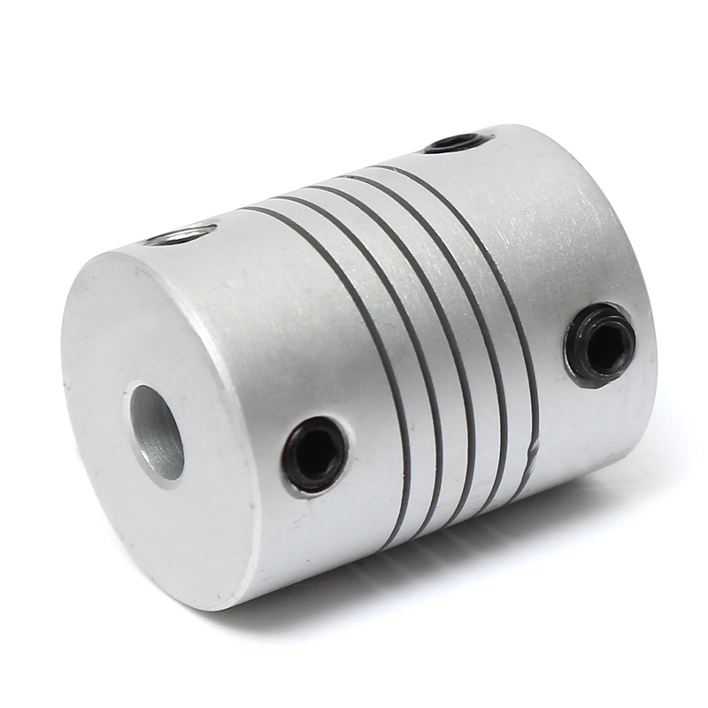 5mm To 8mm Flexible Coupling OD 19x25mm Router Connector 5x8mm Motor Jaw Shaft Coupler Power Transmission Part motor shaft joint coupling brass coupler shank connector transmission 3 17mm to 2 3 4 5mm rc airplane car model hobby power tool