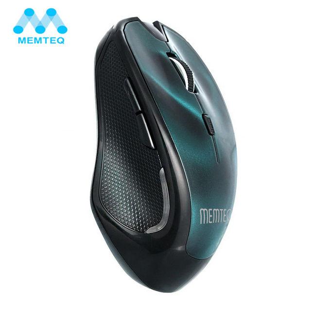 fa5989d4a31 MEMTEQ Wireless Mouse 2.4G Laptop Bluetooth 3.0 3D Mouse Professional  Gaming Optical 1600DPI Mice for