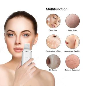 Image 5 - Skin Scrubber Ultrasonic Face Skin Scrubber Facial Cleaner Peeling Vibration Blackhead Removal Exfoliating Pore Cleaner Tools