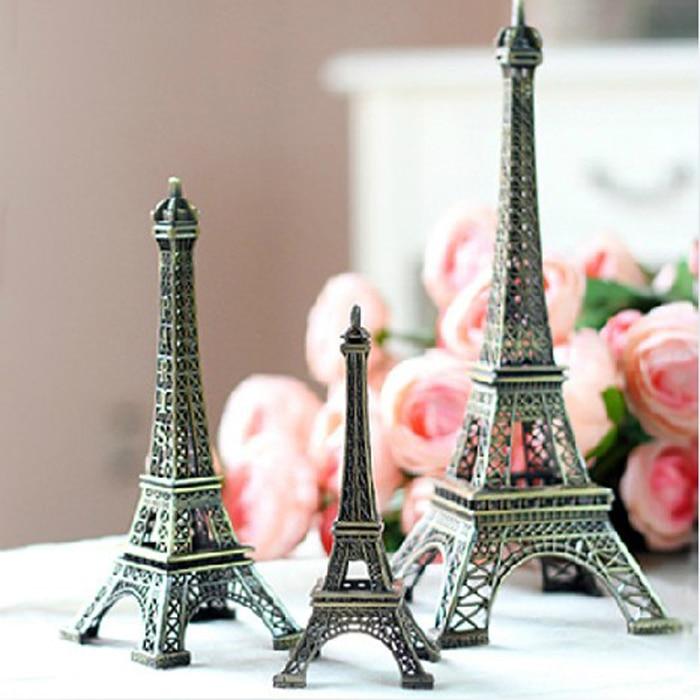 Metal Art Iron Craft Eiffel Tower Miniature Model Statue La Tour Figurine Vintage Home Decor French Symbol Souvenir Gift On Aliexpress Alibaba
