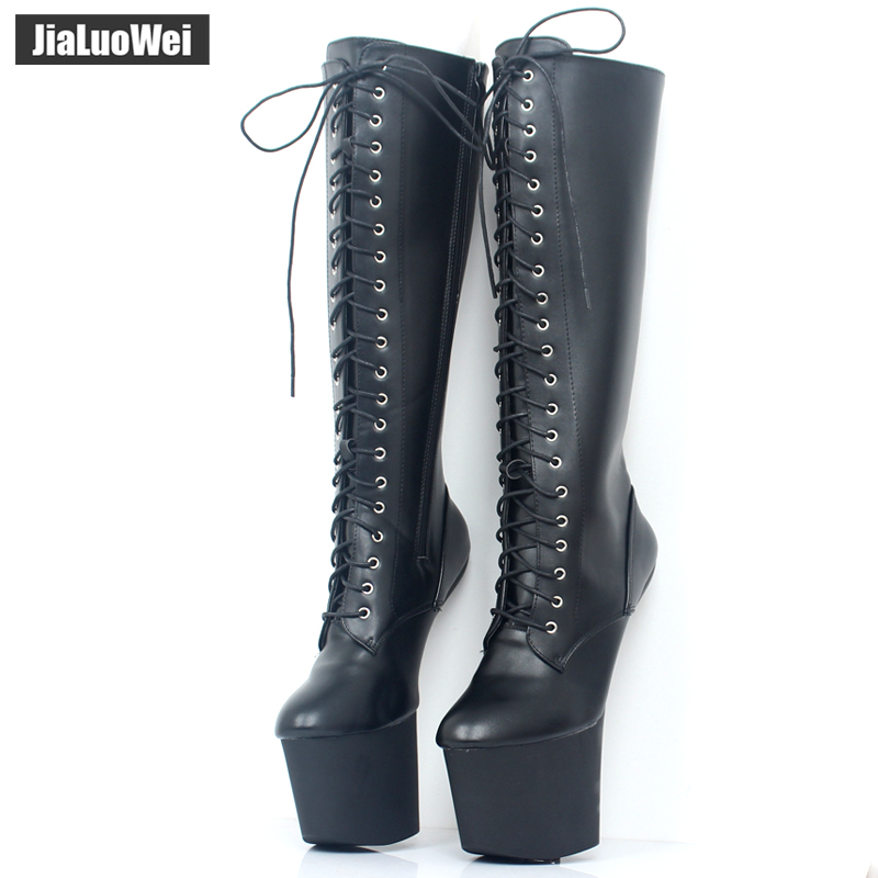 jialuowei 8 ίντσες Υψηλή φτέρνα - Γυναικεία παπούτσια - Φωτογραφία 4
