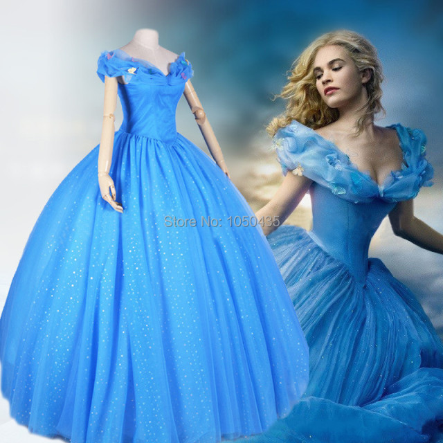 63c805eefa8 New Fashion 2015 Cinderella Quinceanera Dresses Real Blue Girls Cinderella  Dress with Beads Puffy Pageant Dress Ball Gown Style