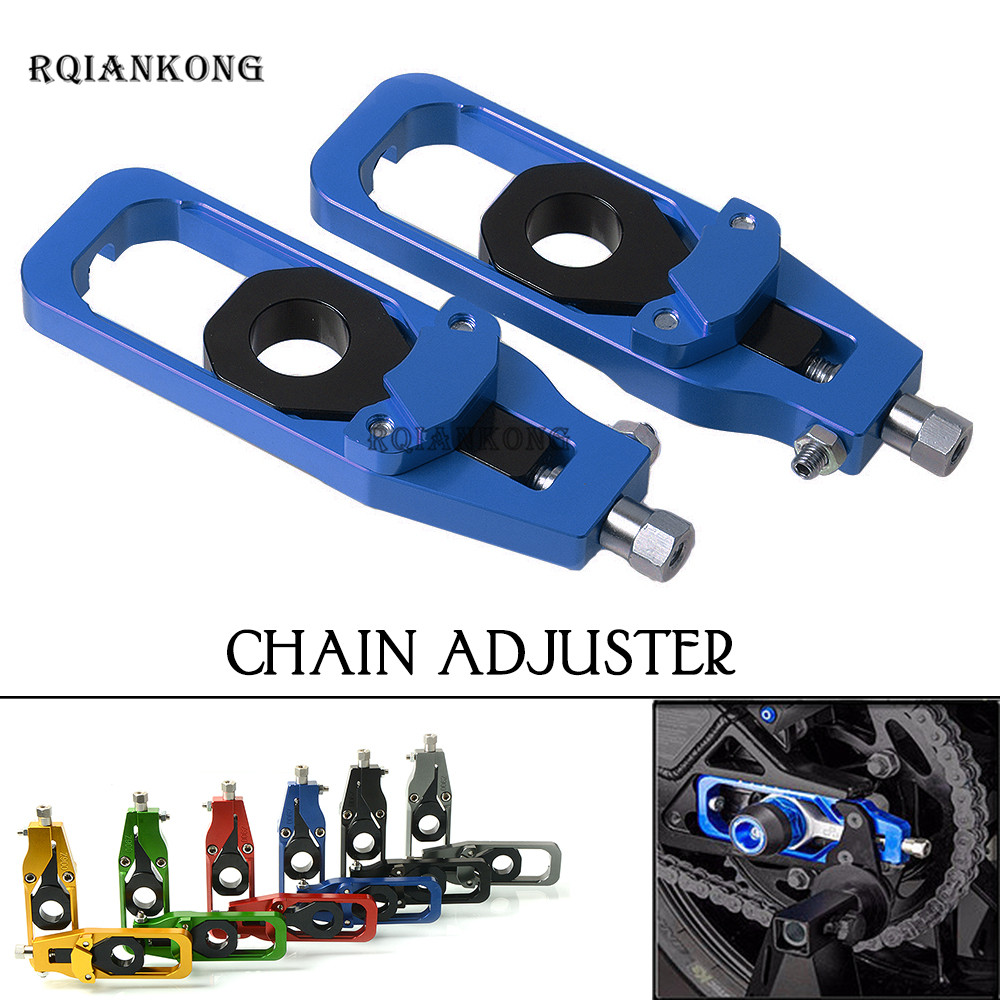 Rear Axle Spindle chain Adjuster For KAWASAKI Z900 Z 900 Aluminum Tensioner Bonnet Strut Mount Stand  Motorcycle AccessoriesRear Axle Spindle chain Adjuster For KAWASAKI Z900 Z 900 Aluminum Tensioner Bonnet Strut Mount Stand  Motorcycle Accessories