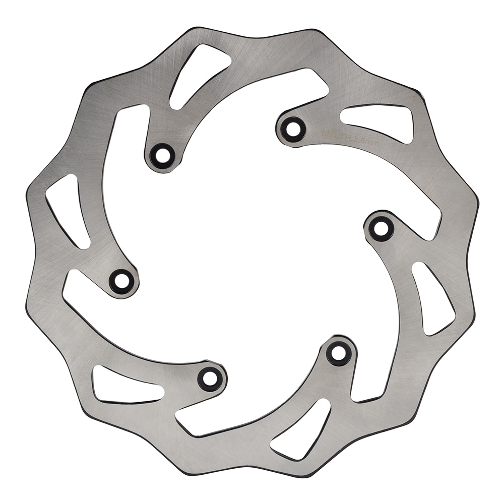 NICECNC Rear Brake Disc Rotor For KTM 125 250 350 450 500 SX SXF EXC EXC EXCF XC XCW XCF 1990-2018 Husqvarna Husaberg TE FE TC motorcycle front and rear brake pads for ktm egs lse exc 400 all models 1998 2006 black brake disc pad