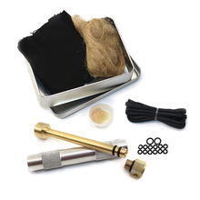 цена на Fire Piston Fire Starter Kit Fire Starting Tool for Outdoor Camping Hiking Survival Outdoor Tools