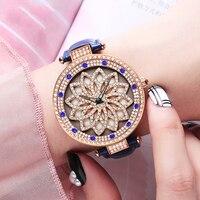 ABORNI Brand Watch Quartz Women Watches Diamond Stainless Steel Rose Gold Ladies Wristwatch Girls Female Clock 2019 montre femme