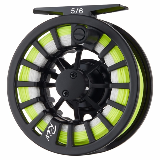 Piscifun Aluminum Fly Reel Carbon Rod Fly Combo