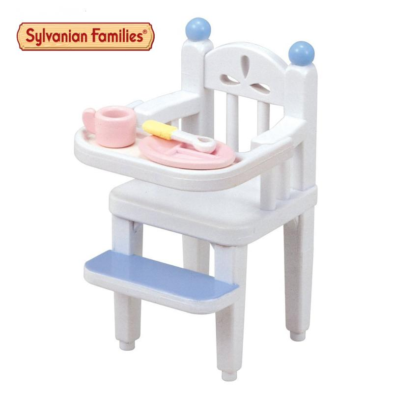 Sylvanian Family Of Mini Children's Dining Chair Mini Furniture Pretend Toys Child  Gift