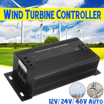 Efficient 1000W 48V IP65 Waterproof Wind Turbine Generator Charge Controller Regulator Outdoor Wind Generator Charge Controller