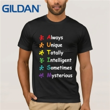 GILDAN Autism Awareness Funny T Shirt  T-shirt