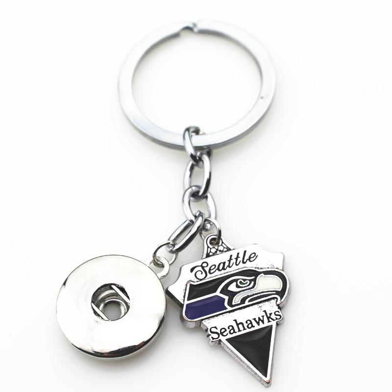 Seattle Seahawks Keychain Key Chain Fan Apparel & Souvenirs Football-NFL