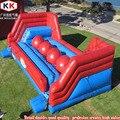 Большие интерактивные надувные прыжки n bounds красный шар препятствия игровой курс