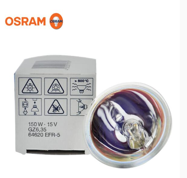 OSRAM 64620 15V150W long life halogen lamp cup, GZ6.35 EFR-5 15V 150W endoscope cup lamp multitool jm ct4 1 6p 8p ethernet internet cable crimping plier repair hand tools wire cutter cutting pliers tool kit