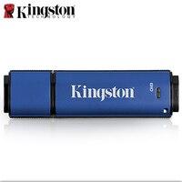Kingston USB Flash Drive 8GB Memory Stick 16GB 32GB Mini Gold Flash Memoria Disk Personalized Logo