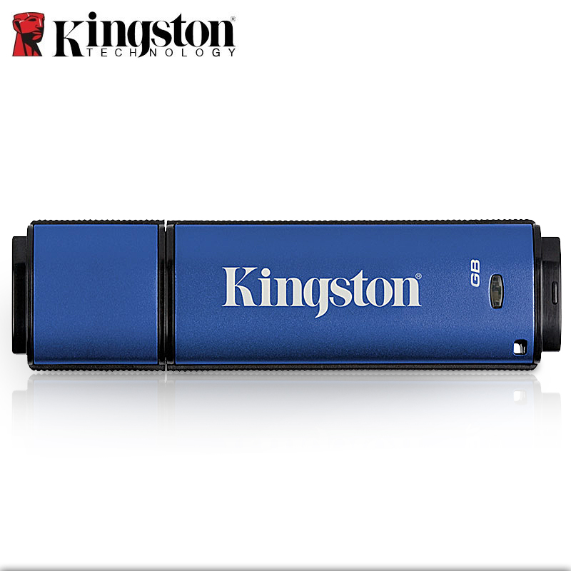 Kingston USB Flash Drive 8gb 16gb 32gb 64gb Pendrive Encrypted Confidential Memory Stick cle memoria usb clef 3.0 DTVP U Disk цена