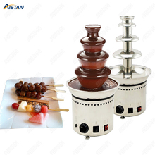 DH296 4/5/6/7 Layers Electrical Chocolate Fountain Chocolate Melt Fondue waterfall Machine 220V/ 110V недорого