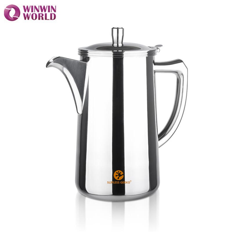 Wholesale 2L Stainless Steel 304 Cold Water Pot for Home High Quality Tea Coffee Kettle Metal