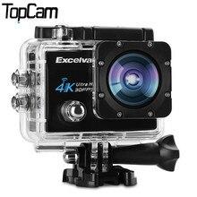Excelvan Q8 D'action Caméra 2.0 pouce WiFi 4 K 30FPS 16MP H.264 30 m Étanche 170 Objectif Grand D'action DV sport Caméra(China (Mainland))