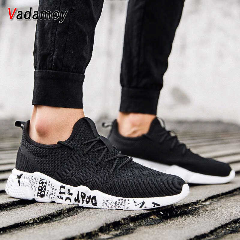 Running Shoes For Men Breathable Sneakers Comfortable Outdoor Light Athletic Jogging Walking Trainers Male Footwear Plus Size