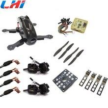 Robocat 4-Axis Carbon Fiber Quadcopter Frame CC3D LHI 2204 Motor 12A ESC props ~Black