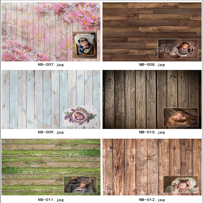 Wooden Board Planks Texture Portrait Grunge Photo Background Customized Photography Backdrops For Photo Studio