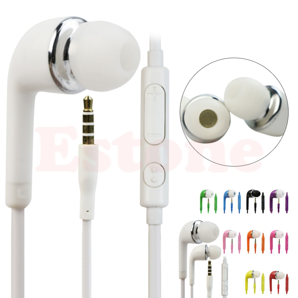 Newest 3.5mm In-Ear Earphones for Samsung PC iPhone Universal Cellphones Hot