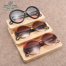 Current Round UV400 Sunglasse Women Men Ordinary Vintage PC Frame Resin Lens New Fashion Trends Anti-Glare Sunglasses цена