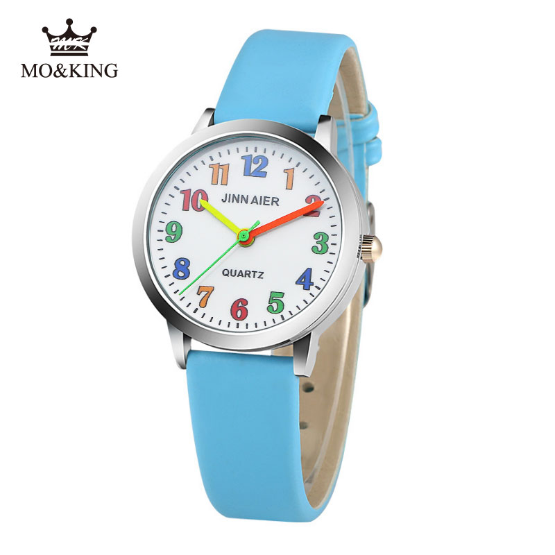 Generous Cute Unicorn Ladies Watch For Kids Girls Boy Rose Leather Wristwatch Casual Dress Fashion Children Learn Time Watch U85b Quality First Children's Watches