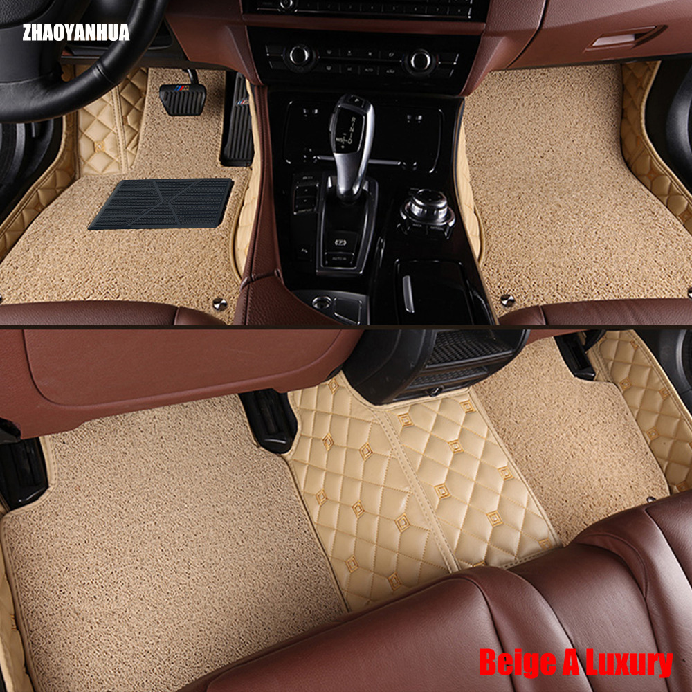 ZHAOYANHUA car floor mats for Mercedes Benz R class W251 280 300 320 350 400 500 R300 R350 R400 R500 carpet car styling liners custom fit car floor mats for mercedes benz w176 a class 150 160 170 180 200 220 250 260 car styling carpet liners 2013